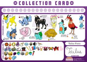Tailus' Collection Card by meroe1313