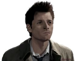 Castiel [Misha Collins] by funnymini