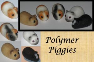 Polymer Piggies by insanable