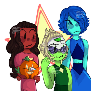 The Crystal Temps by DrawingDJPW