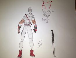 Master Tiger Ninja Ki : A few chances to his suit by Fatal-Jay