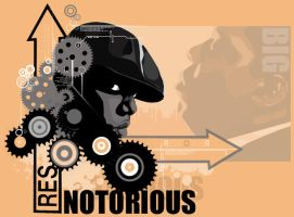 Notorious Abstract by Resido