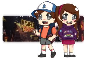Mystery Twins by CuddlyCapes