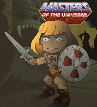 He-Man by The-Cosmic-Kid
