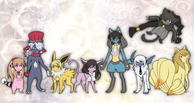 Pandora Hearts Pokemon by willa1313