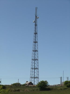 Radio Mast by fuguestock