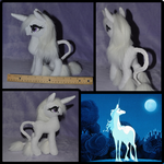 The Last Unicorn Plush by Mlggirl