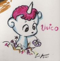 Unico by razorbladekitty