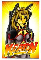 AC09 - Keaton Conbadge - Color by Pegasus316