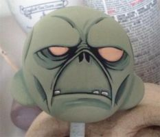 Fallout Ghoul Munny WIP by ReverendBonobo