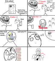 Rage comic following up the last one (4Myles) by KirbyDude64