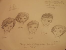 One Direction :P by naladraws