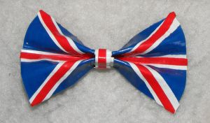 Duct Tape UK Bow by AnimeAmateur7