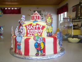 carnival cake view 3 by perpetuousdreemr