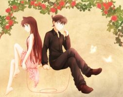 Red string of fate by Arya032