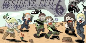 Resident Evil 6 by Liowayo