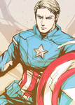Avengers - Captain America by shinjyu