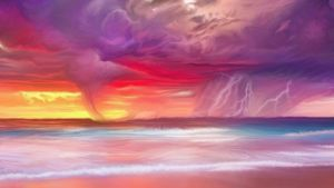 Fiery storm coming by exobiology