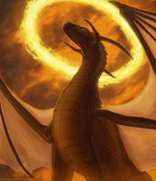 Wreathed in Flame by Chromamancer