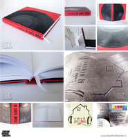 Customizable Large Vinyl Record Book by Marenne