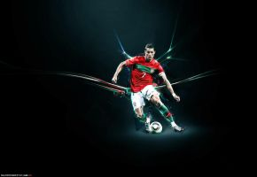 CR7 Wallpaper by FuTboleroArTs