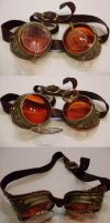 Steampunk goggles by Dunkeljorm