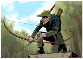 Green Arrow by FabianCobos