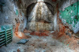 Eastern State Penitentiary - Cell by jnicolini12