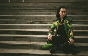 Loki in Midgard by MargaretLaufeyson