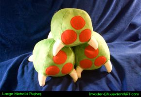 Metroid Plushes by invader-gir