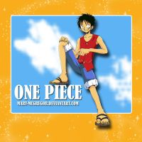 One Piece: Luffy by Mary-McGregor