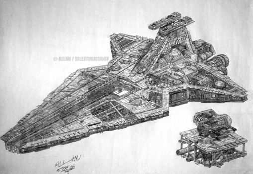 :REPUBLIC STAR DESTROYER: by Angelstorm-82