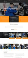 Scyla - Car Repair Service PSD template by KL-Webmedia