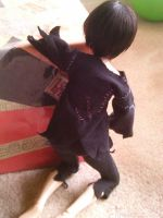 Drow MSD BJD outfit back by tirsden