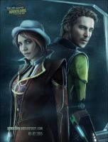 Laura Bailey as Fiona and Troy Baker as Rhys(TFTB) by Bembiann