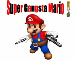 gangster mario by DDBUG007
