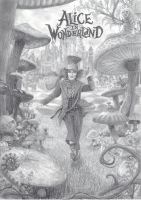 Alice in Wonderland - Part 2 by one-film-one-drawing