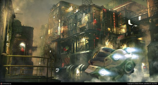 Steam City by StefanMorrell