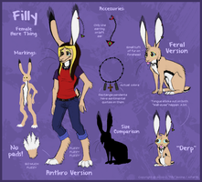 The Alfas: Filly Reference by AlfaFilly