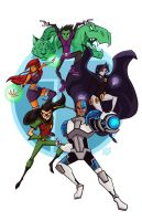 Teen Titans by Tigerhawk01
