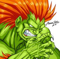 CHARACTER SELECT - BLANKA by viniciusmt2007