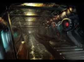 underground tunnel by gunsbins
