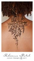 Floral Henna Tattoo by FaMz