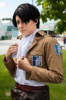 Attack on Titan - Levi Rivaille Portrait by faramon