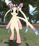 Sylveon mod EP standing pony 20131022 by K4nK4n