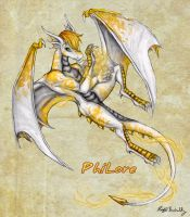 PhiLore the Fire Lord by PookaWitch