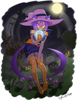 Nekomancer Lavender - Halloween 2012 by TheBumbler