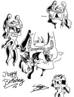Happy Birthday LightoYagami by MrsEmmyJ
