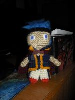 Crocheted Ike by DearAngelTori