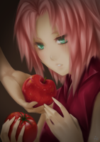 Apples and Tomatoes by ymira